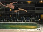 Me leaping (OK, I didn't take this one)